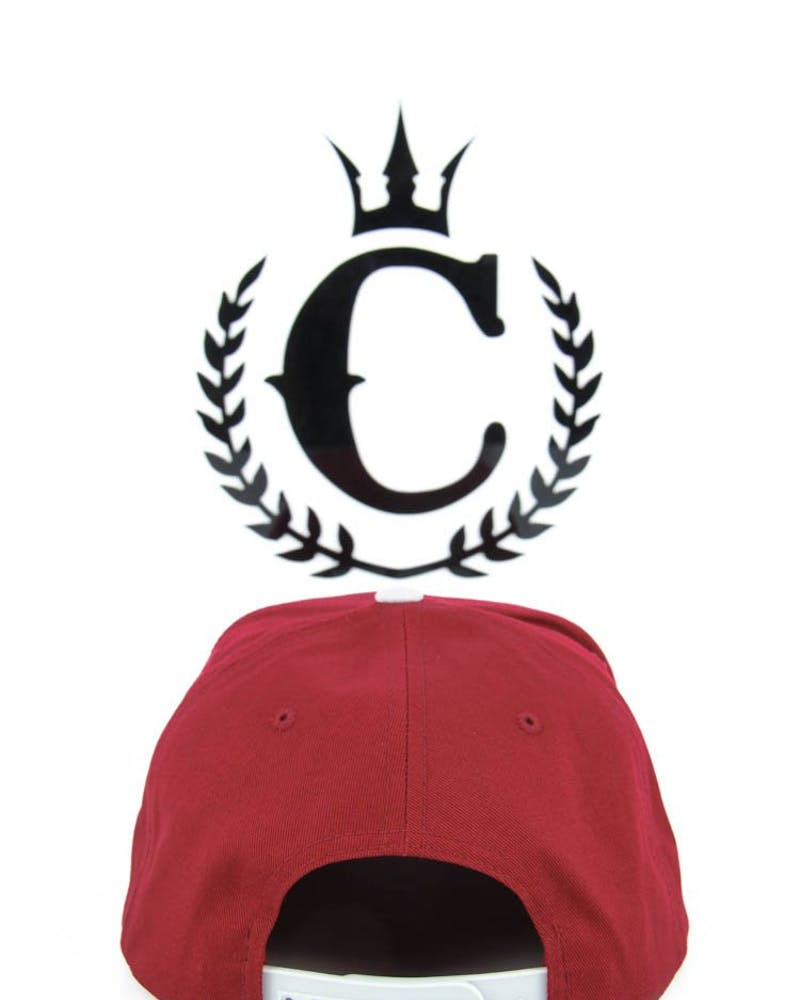 the City Snapback Burgundy/grey/s