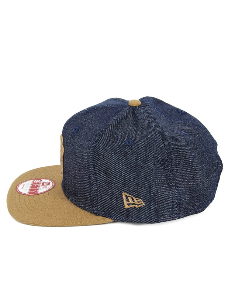 Yankees Original Fit Snapback Denim/wheat