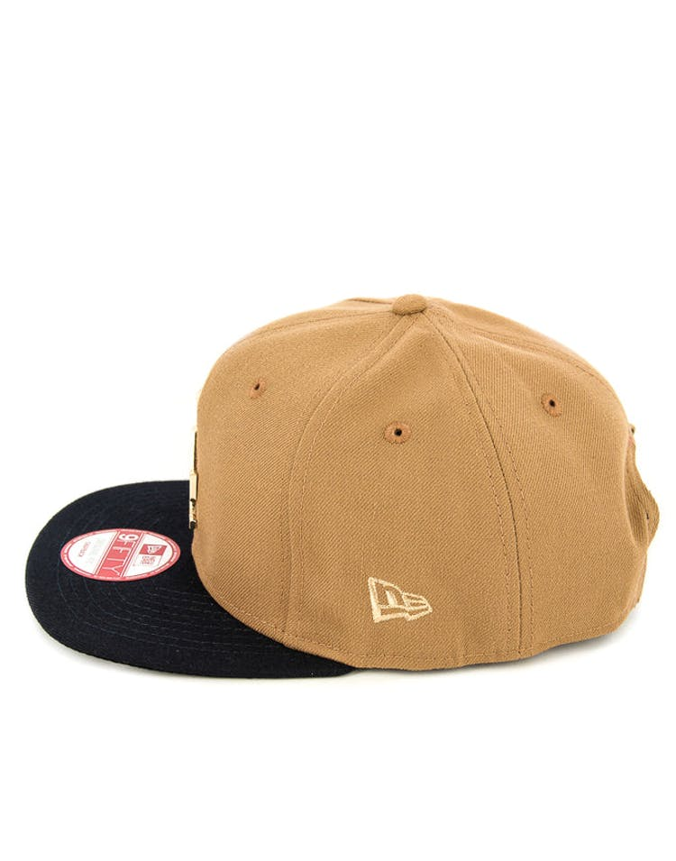 Dodgers Orig.fit Metal Snapback Wheat/navy/gold