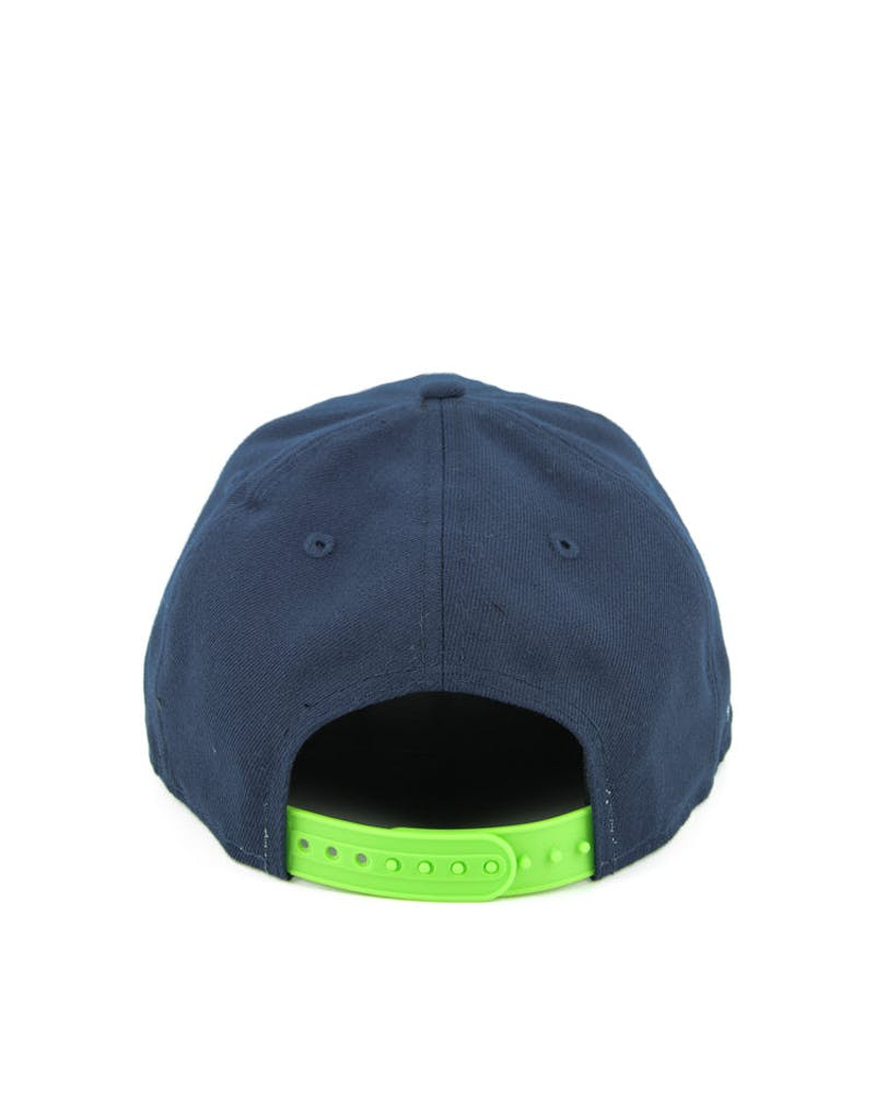 Seahawks Athlete Vize Snapback Navy/brown