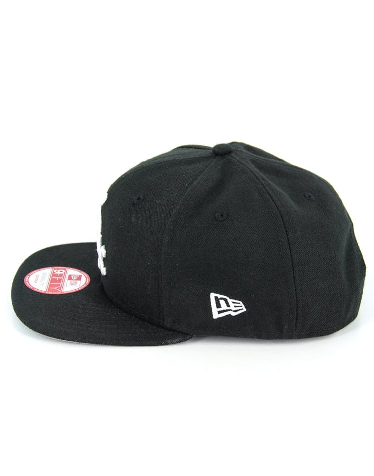 White Sox Orig Fit Snapback Black/grey