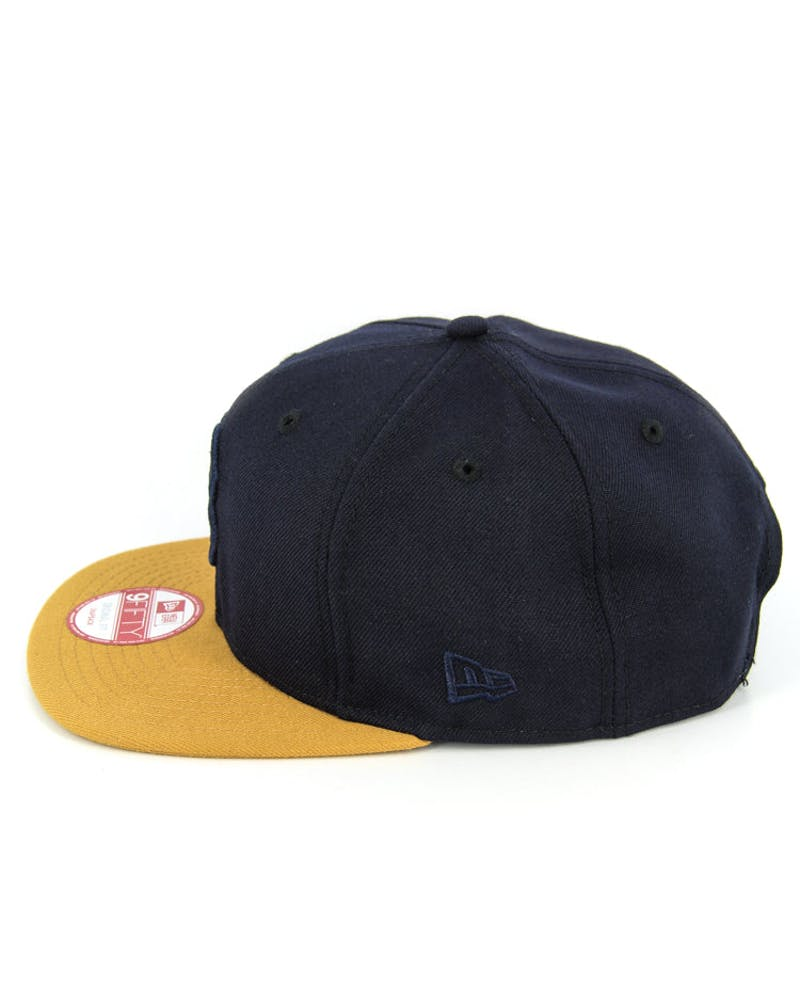 Giants Original Fit Snapback Navy/tan