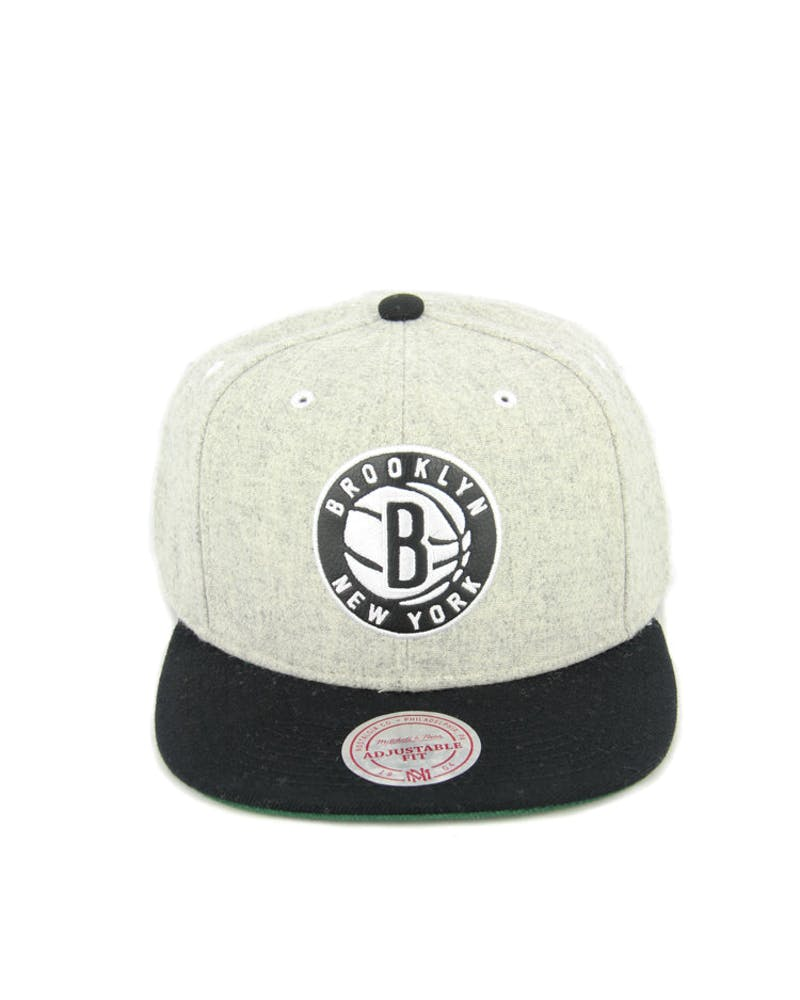 Nets Melange Snapback Grey/black