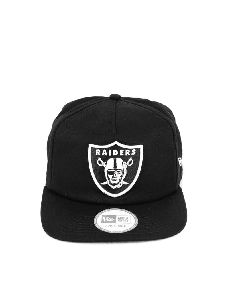 Raiders Old Golfer Snapback Black