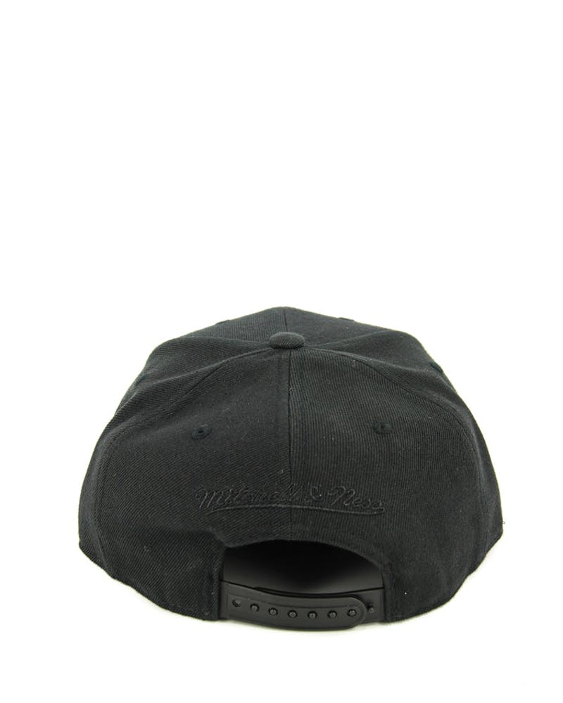 Nets Lux Arch Snapback Black/gold