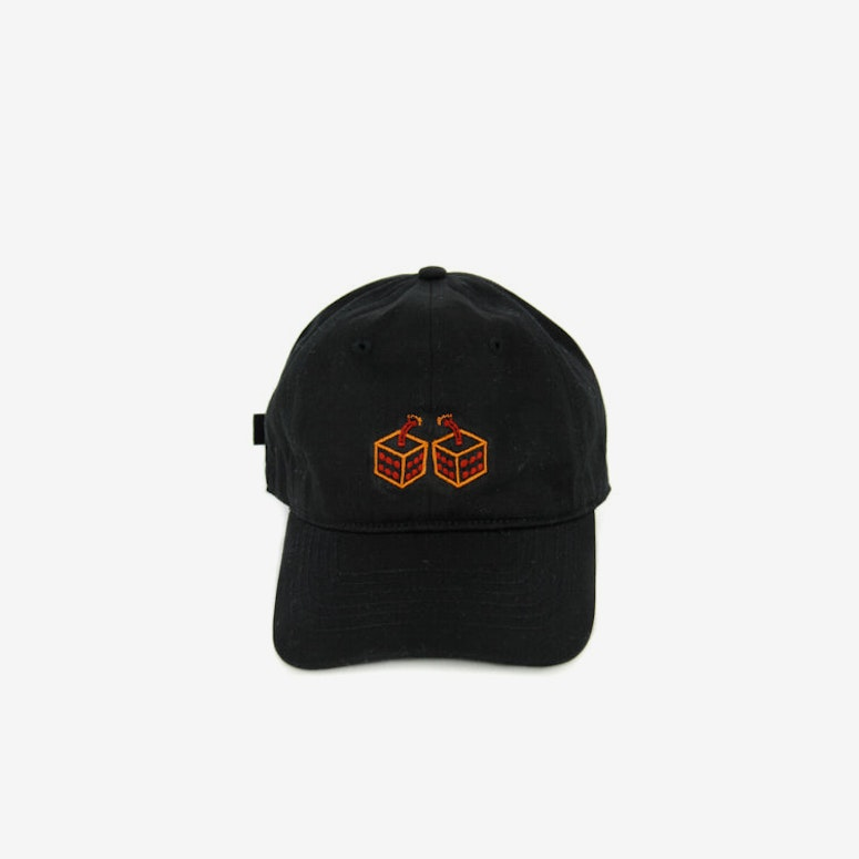Dice Club 6 Panel Strapback Black