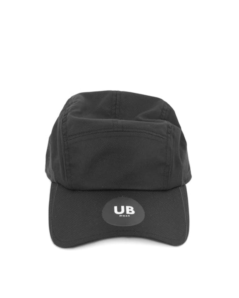 Funday 5 Panel Curve Clipback Black