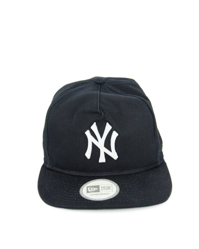 Yankees Old Golfer Strapback Navy/lime