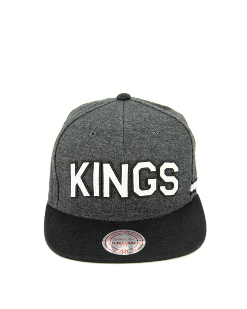 LA Kings Training Room Snapback Grey/black