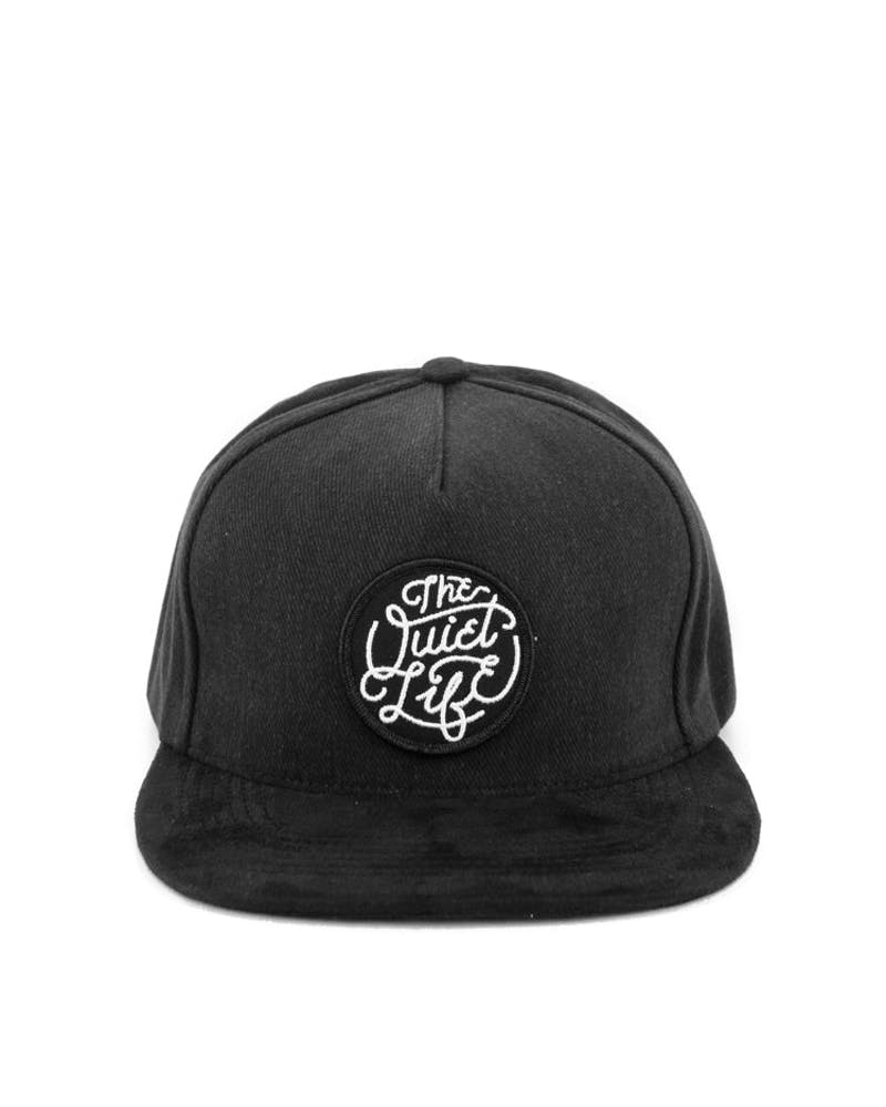 Day Log Snapback Black