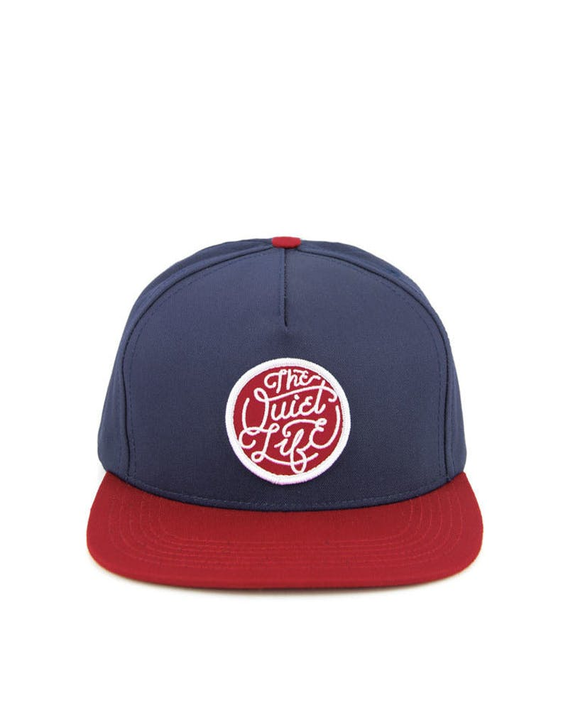 Day Logo Snapback Blue/red