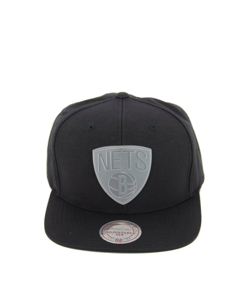 Nets Warm up Snapback Black