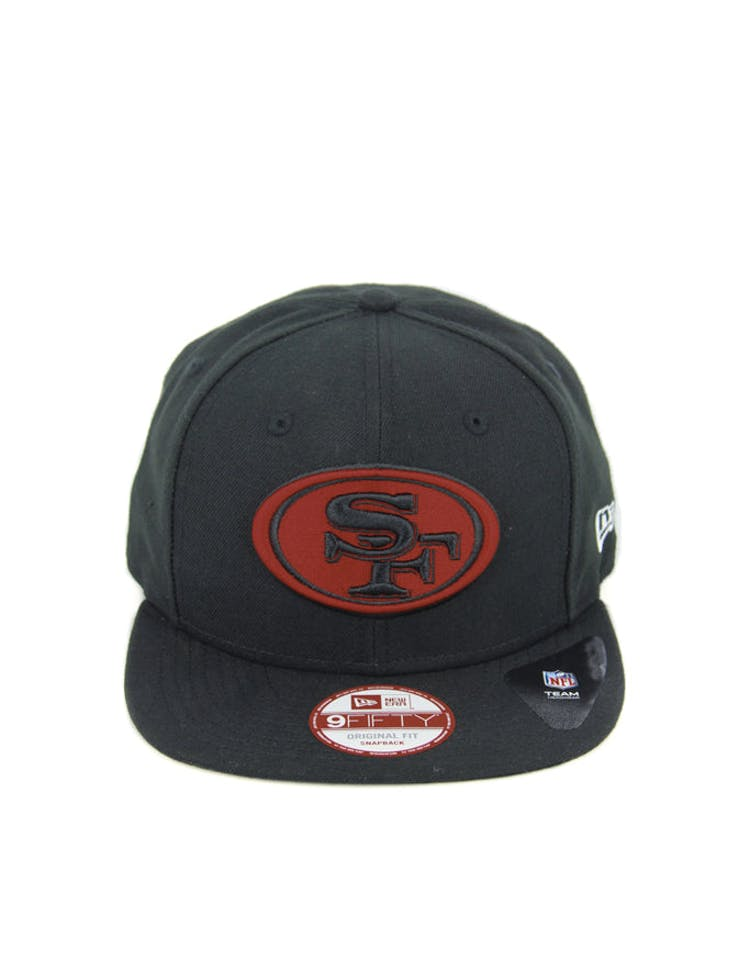 49ers Original Fit Snapback Black/scarlet