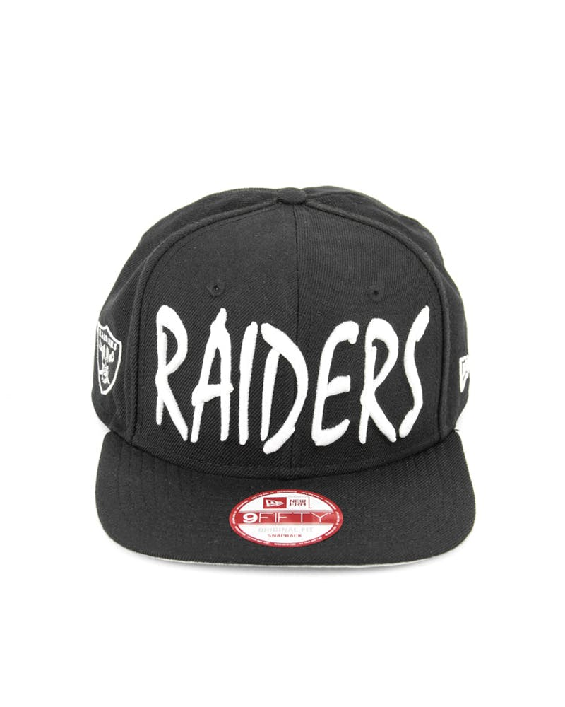 Raiders Sketch Original Fit Black/white