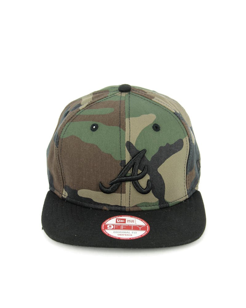 Braves Original Fit Snapback Camo/black