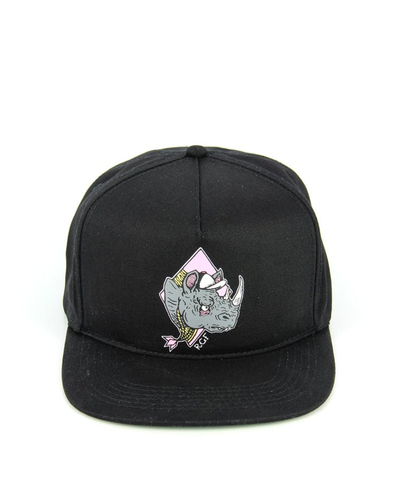 the Rhino Snapback Black