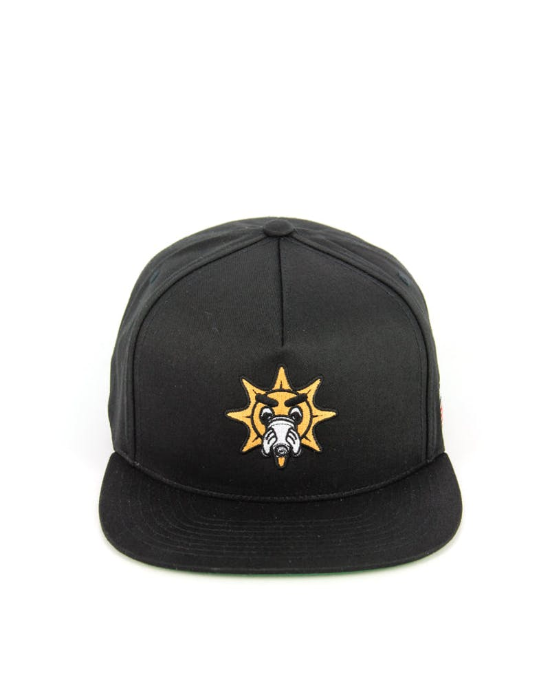 X Chief Keef Glo Gang Snapback Black