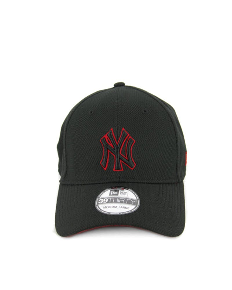 Yankees 3930 Fitted Black/scarlet