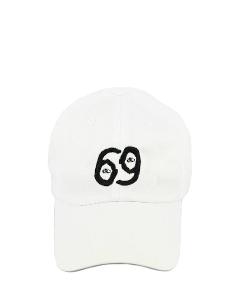 69 God Strapback White
