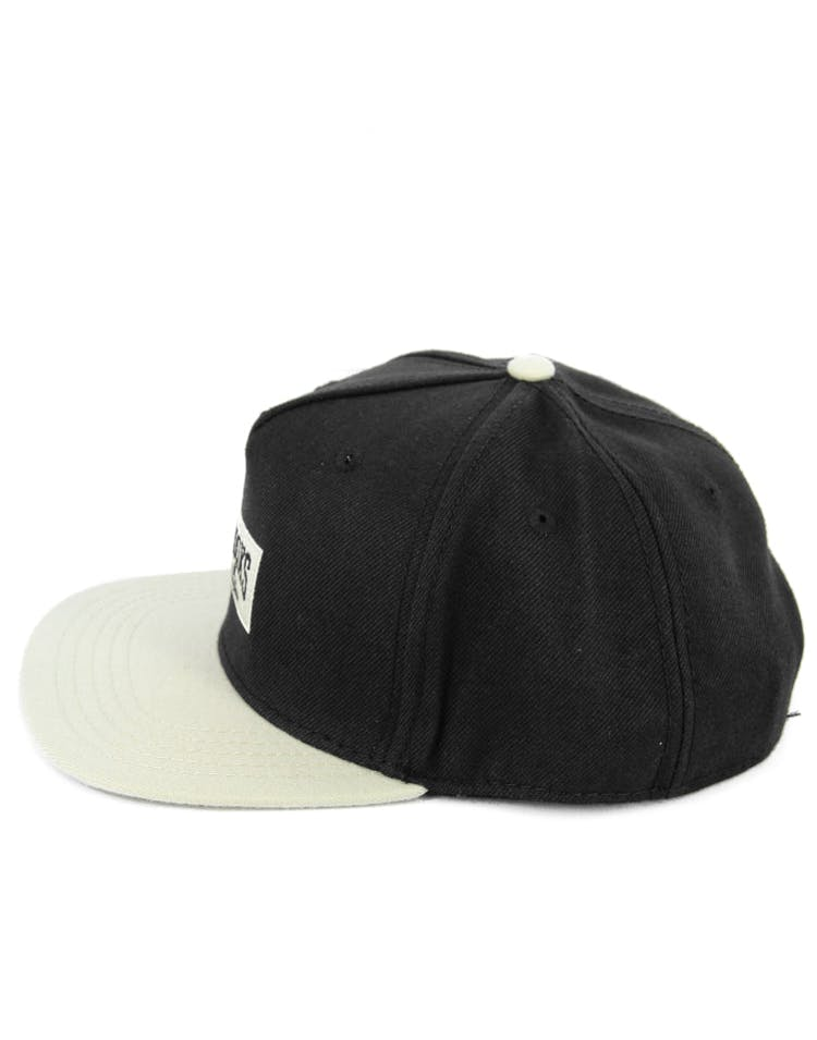 Core Logo Snapback Cap Black/natural