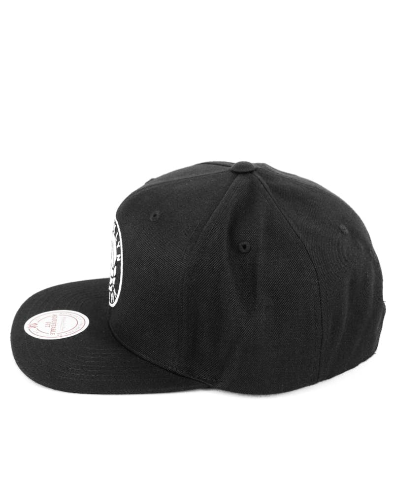 Nets Snapback Black/white