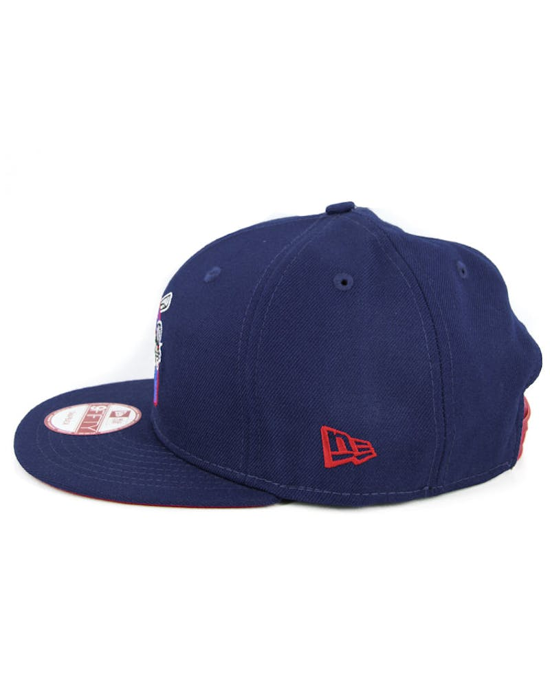 Auburn Double Days Snapback Dark Royal