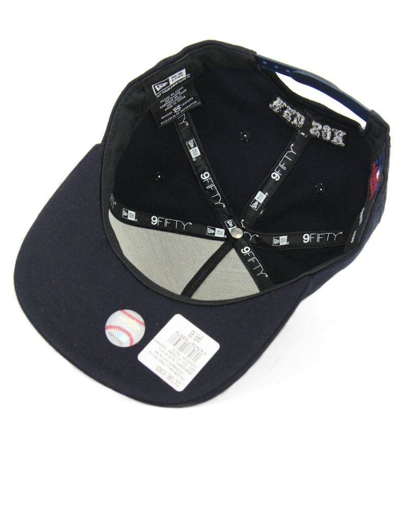 New Era Red Sox CK 940 A-Frame Snapback Navy/red/white