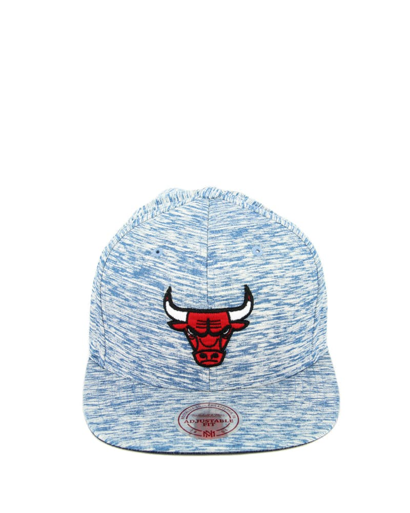 Bulls Against the Grain Snapback Indigo