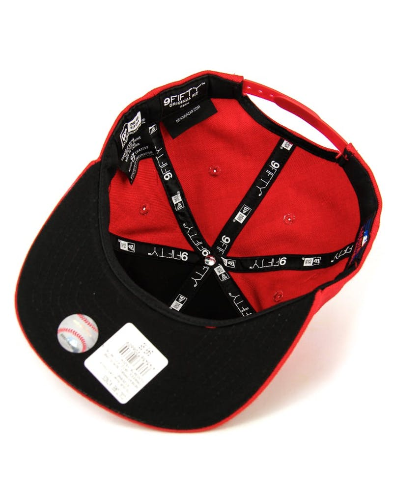 Dodgers Orig.fit Metal Snapback Scarlet/gold