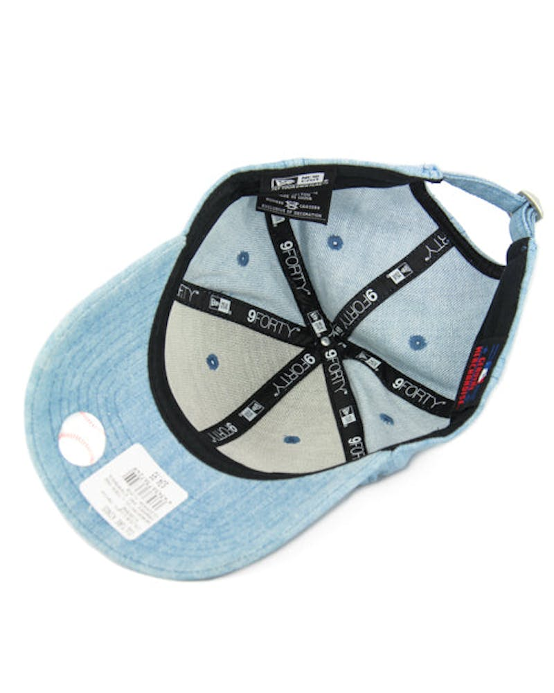 New Era Yankees 9FORTY Strapback Denim/navy