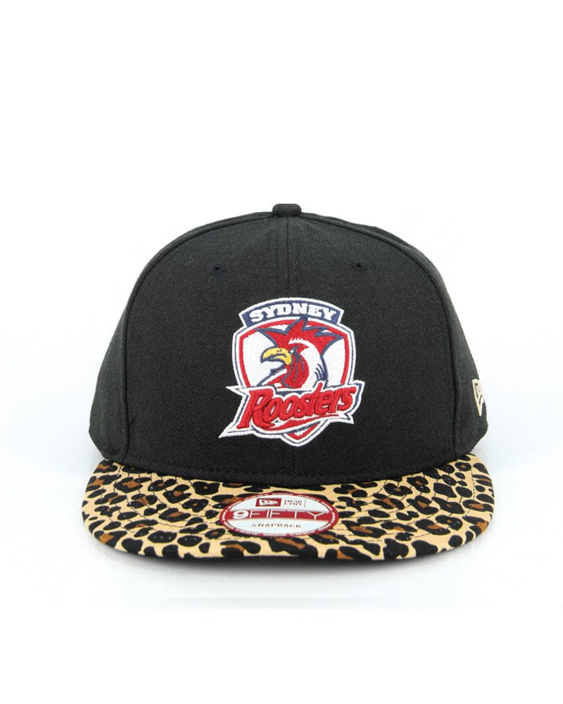 Sydney Roosters Snapback Black/leopard