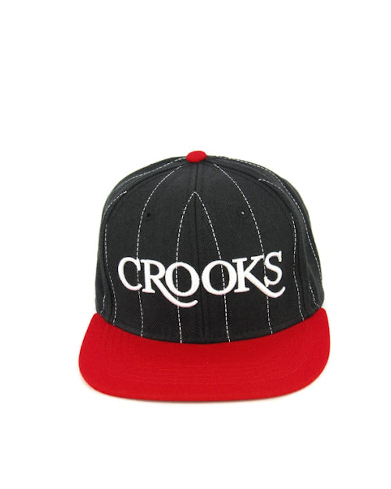 Serif Crooks Snapback Black/red