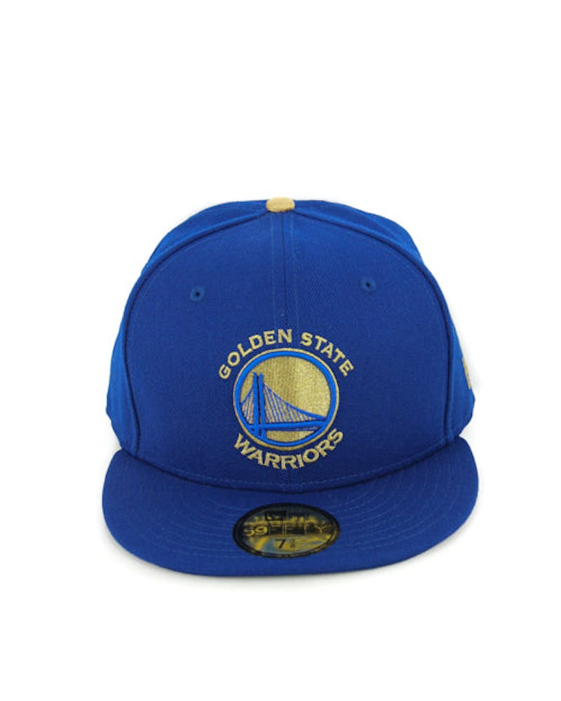 Warriors Fashion Fitted Royal/gold