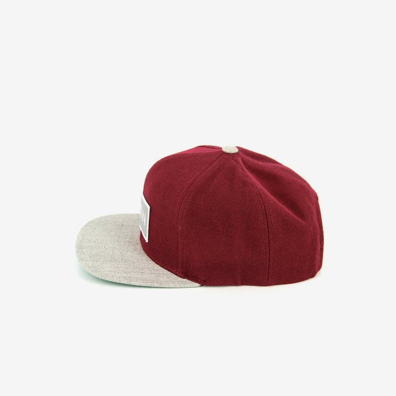 Rift Snap Back Burgundy/lhgrey