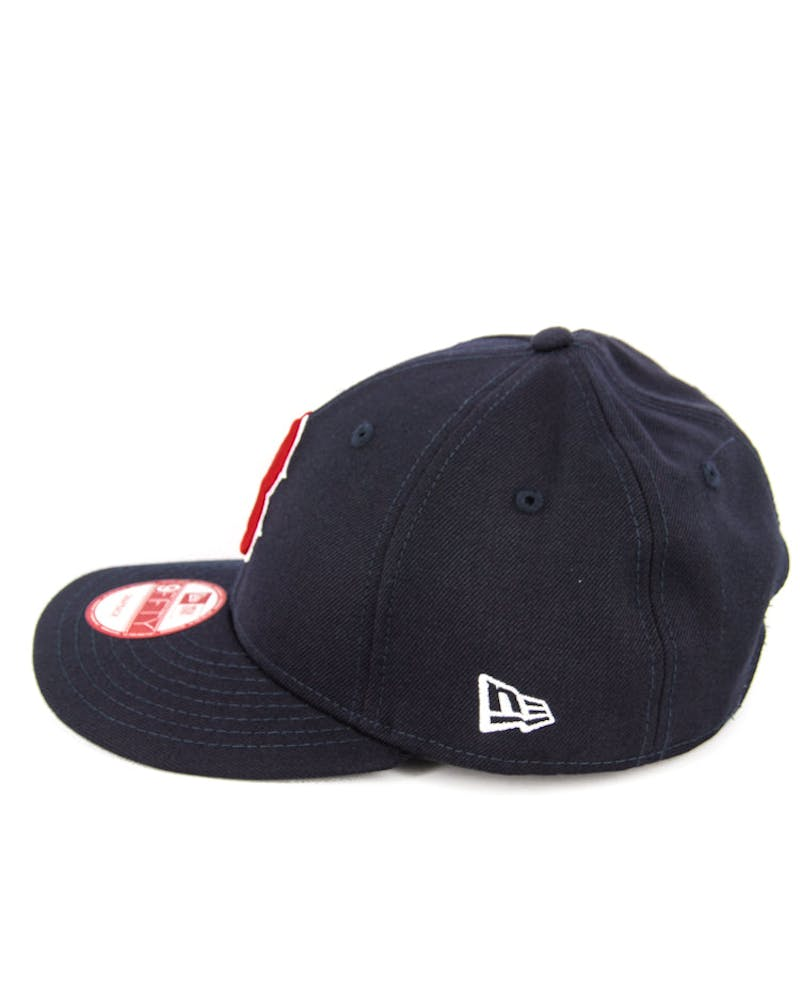 Red Sox Low Crown Snapback Navy/red/white