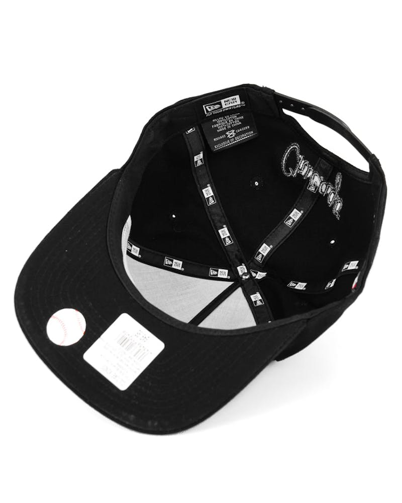 White Sox Old Golfer Snapback Black/white