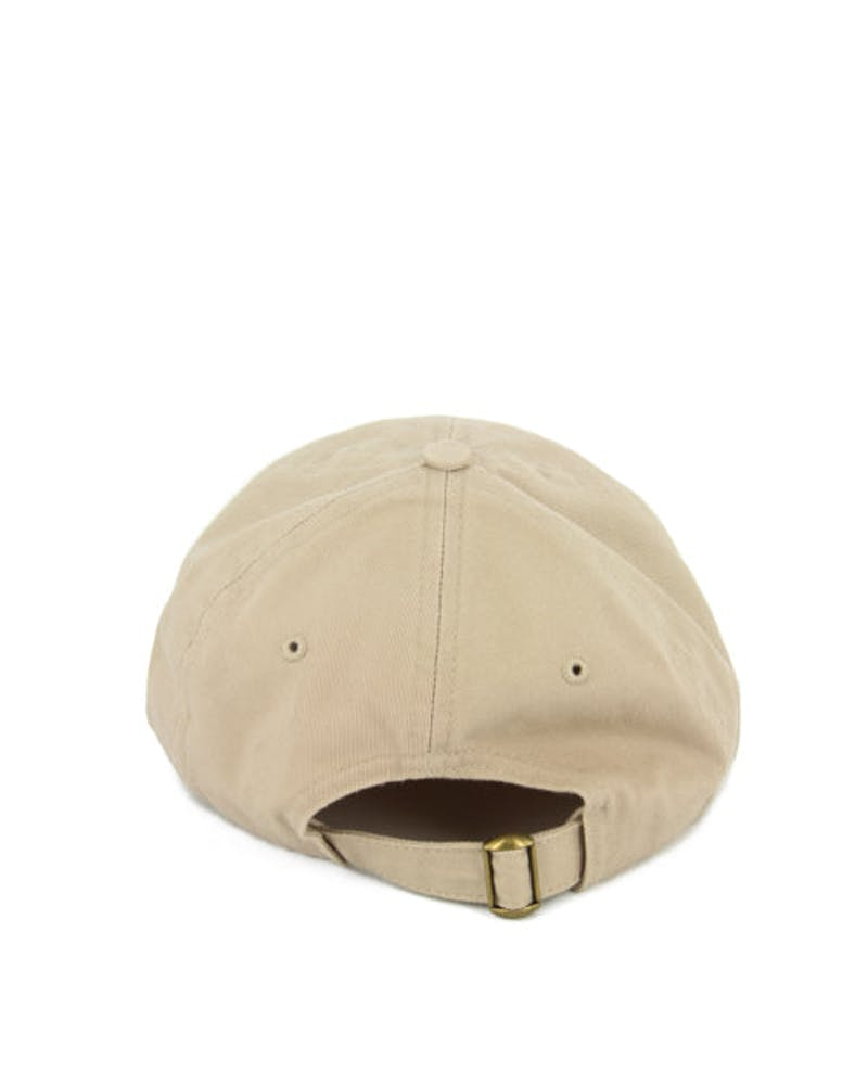 Rap Curved Strapback Tan