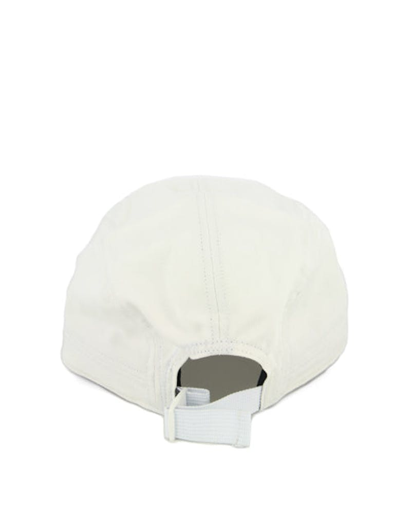 9 to 5 Panel Curved Strapback White
