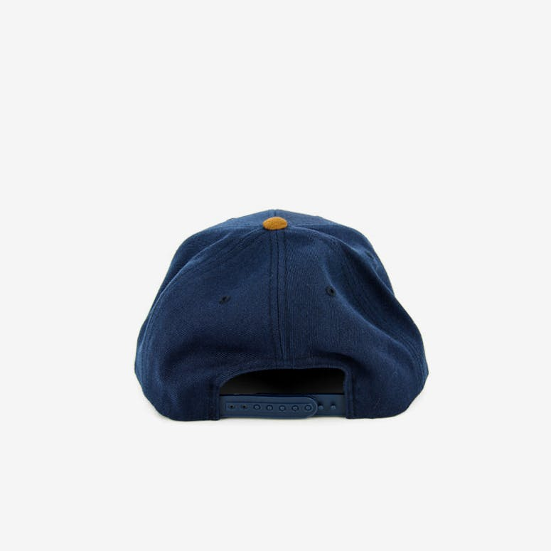 Wheeler Snap Back Navy/tan