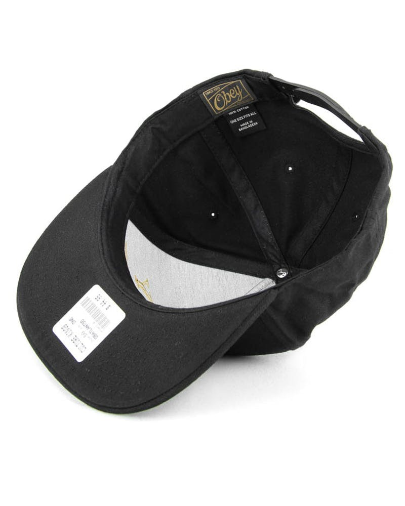 Atlantic Snapback Black