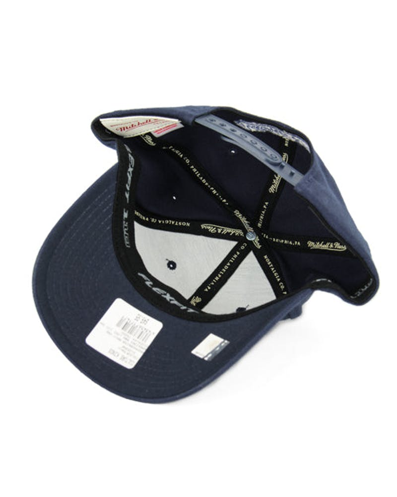 Warriors B&w Logo 110 Snapback Navy