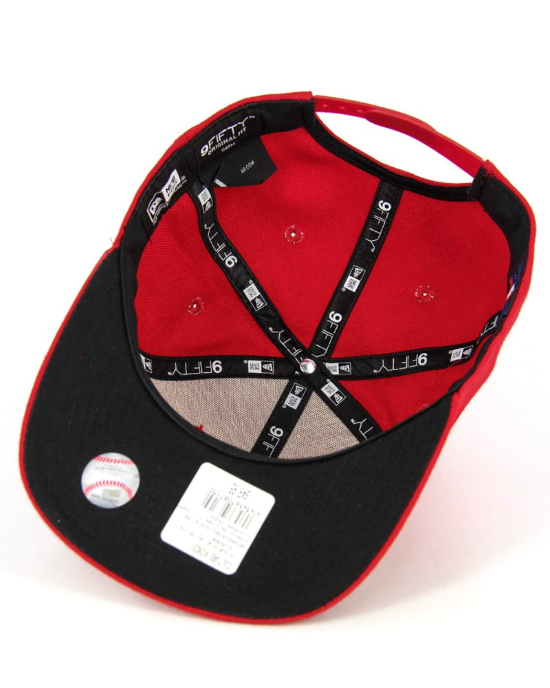 Pirates Original Fit Snapback Scarlet/white