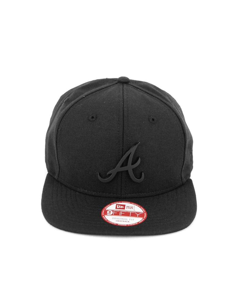 Braves Orig.fit Metal Snapback Black/black