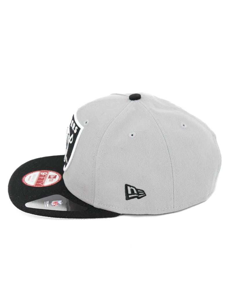 Raiders Redux Original Fit Snapback Grey/black