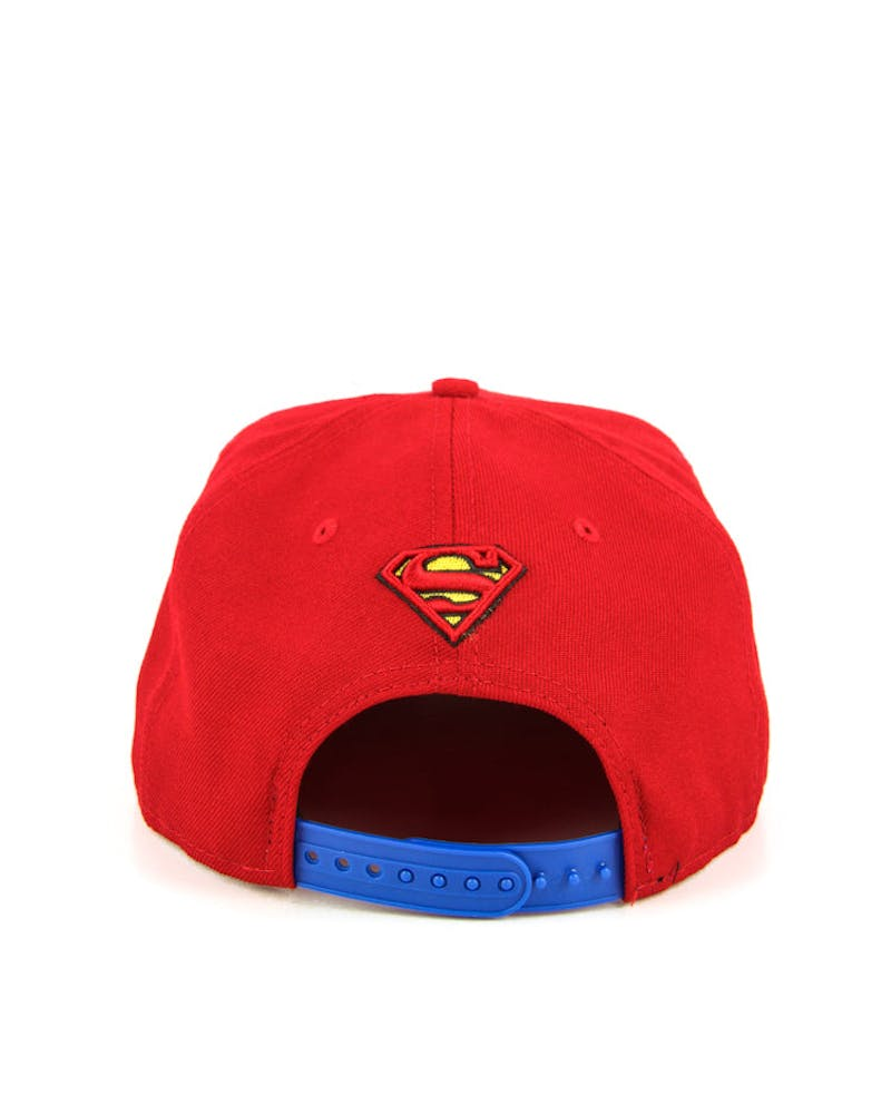 Superman Snapback Scarlet