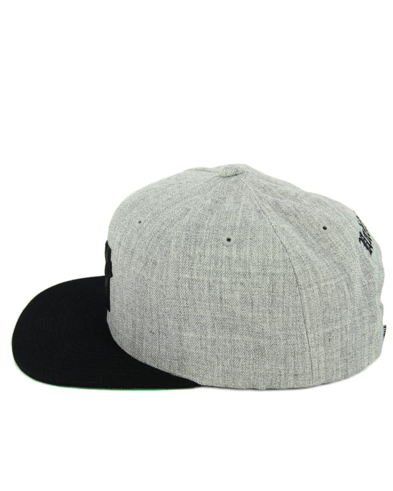 5 Strike Snapback Grey/black