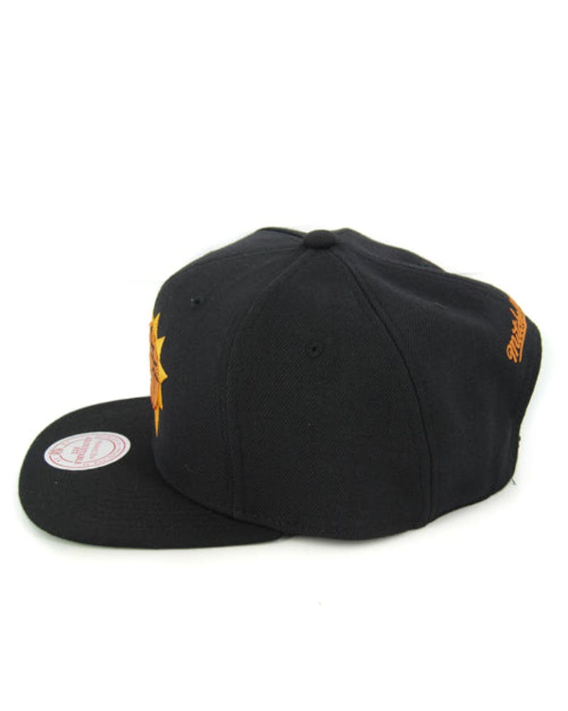 Suns Wool Solid Snapback Black/yellow