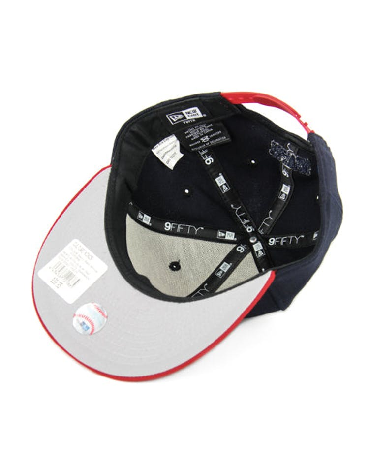 Braves Youth Snapback Navy/red/white