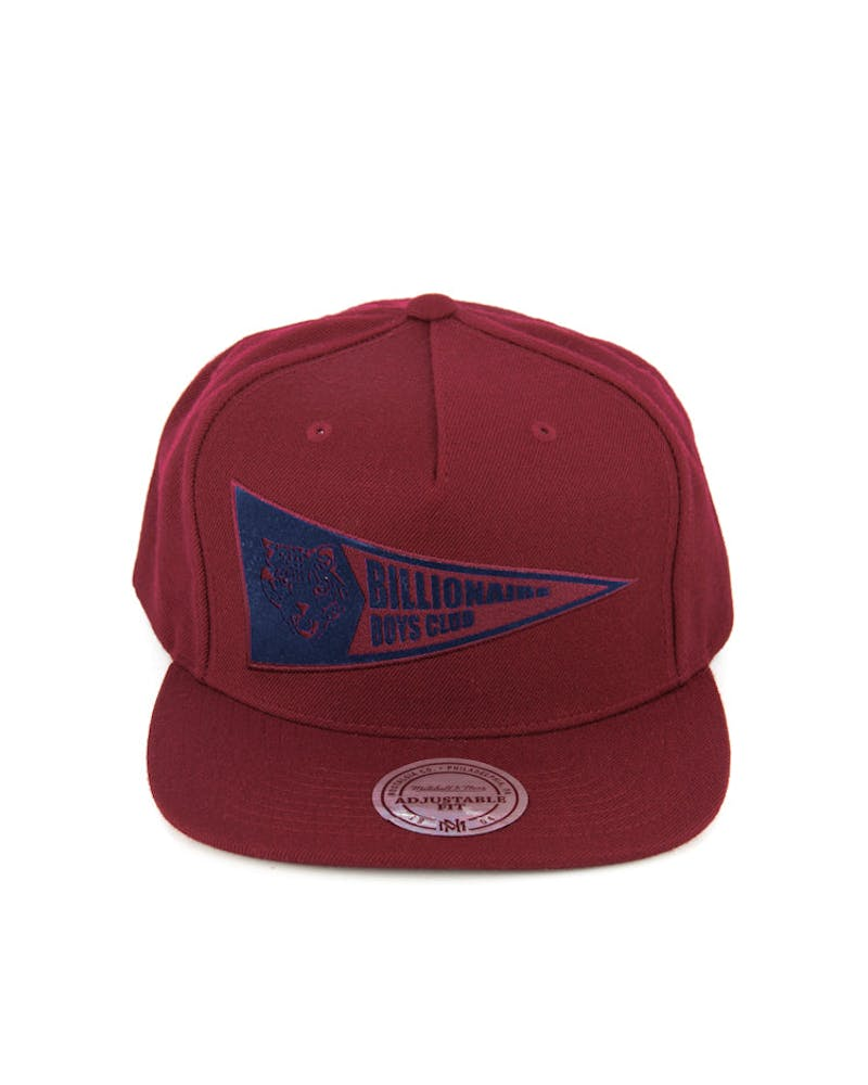 Flag Logo Pinch Panel Snapback Red/navy