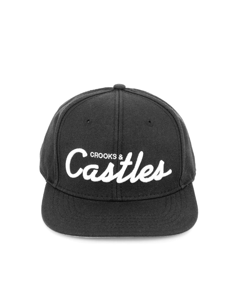 Crooks & Castles Team Castles Snapback Black